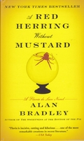 cover image of a red herring without mustard by alan bradley