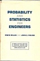 Probability and Statistics for Engineers by…