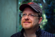 Author photo. Headshot of Mark Waid. Photo by Lori Matsumoto (stutefish).