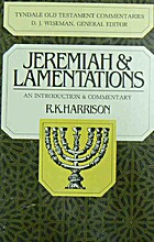 Jeremiah and Lamentations (Tyndale Old…