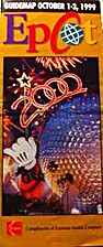 1999 Epcot Guidemap October 1-3, 1999,…