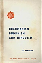 Brahmanism Buddhism | RM.
