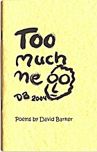 Too Much Me by David Barker