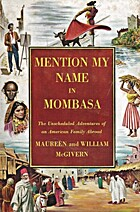 Mention My Name in Mombasa by Maureen Daly