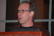 Author photo. Lawrence Krauss at Humanist Conference, Los Angeles, CA, October 2010