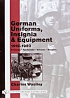 German Uniforms, Insignia & Equipment…