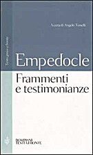 Testimonianze e frammenti by Empedocle