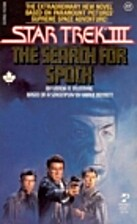 Star Trek III: The Search for Spock by Vonda…