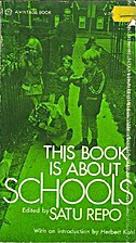 This Book is About Schools by Satu Repo