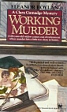 Working Murder by Eleanor Boylan
