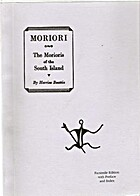 Moriori / by Herries Beattie by H. Beattie