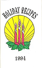 Holiday Recipes 1994 by Midwest Power…