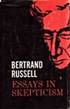Essays in Skepticism by Bertrand Russell