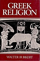 Greek Religion by Walter Burkert