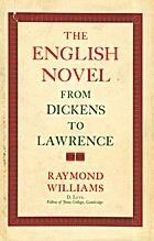 The English Novel from Dickens to Lawrence…