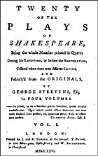 Twenty of the plays of Shakespeare : being…