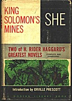 King Solomon's Mines / She by H. Rider…
