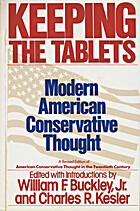 Keeping the Tablets: Modern American…