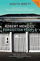Robert Menzies' forgotten people by Judith…
