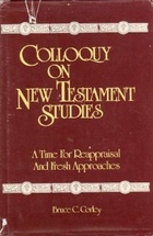 Colloquy on New Testament Studies, Mercer Univ Press (1983)