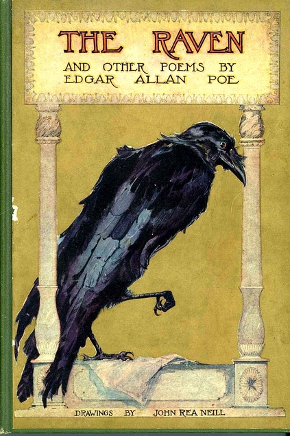 an analysis of the poem the raven by edgar allan poe
