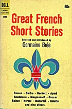 Great French Short Stories by Germaine Bree