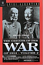 The Origins of the War of 1914 Volume 2 by…
