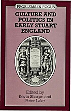 Culture and Politics in Early Stuart England…