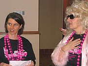 Author photo. Ronlyn Domingue (left) with River Jordan <br>at 2007 Pulpwood Girlfriends weekend, Marshall, Texas <br>  Copyright © 2007 <a href=&quot;http://ronhogan.tumblr.com&quot;>Ron Hogan</a>