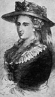 Author photo. Anne Ward Radcliffe. Wikimedia Commons.