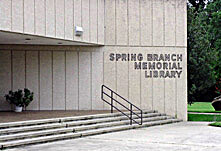 harris county library  spring branch