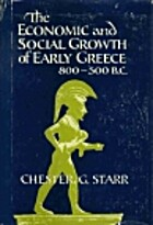The Economic and Social Growth of Early…