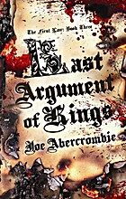 Last Argument of Kings by Joe Abercrombie