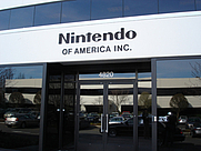 Author photo. Nintendo of America Corporate Headquarters, July 2004, by Lampbane