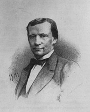 Author photo. Conrad Busken Huet (1826-1886)