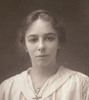 Author photo. Olive Gwendoline Potter, c1919. Courtesy of Royal London Hospital Archives.