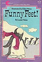 Funny Feet Leatie Weiss