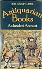 Antiquarian Books, by Roy Harley Lewis