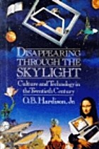 Disappearing Through the Skylight: Culture…