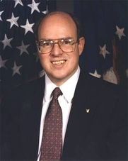 Author photo. Dr. Richard P. Hallion as Senior Adviser for Air and Space Issues, Directorate for Security, Counterintelligence and Special Programs Oversight, the Pentagon, Washington, D.C.  (Retired, 2006)