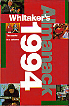 Whitaker's Almanack 1994 by Gale Group