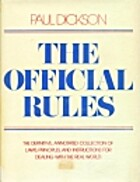 The Official Rules by Paul Dickson