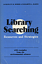 Library searching: Resources and strategies…