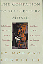 Companion to Twentieth-Century Music by…