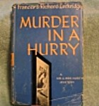 Murder in a Hurry by Frances Lockridge