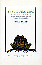 The Jumping Frog: In English. Then in…