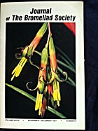 Journal of the Bromeliad Society, Vol.…