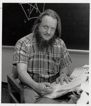 Author photo. Prof. John Horton Conway. Photo by Robert P. Matthews, 1987 (courtesy of Princeton University)