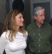 Author photo. Tom Hayden and  wife Barbara Williams (Credit: Jim Gilliam, 2004)