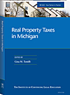 Real property taxes in Michigan by Gina M.…